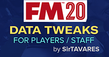 FM20 Data Tweaks by SirTAVARES v1.0
