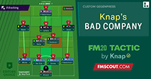 FM20 Tactics by Knap: BAD COMPANY
