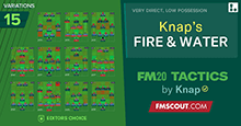 FM20 Tactics by Knap: FIRE & WATER