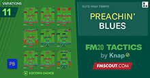 FM20 Tactics by Knap: PREACHIN' BLUES