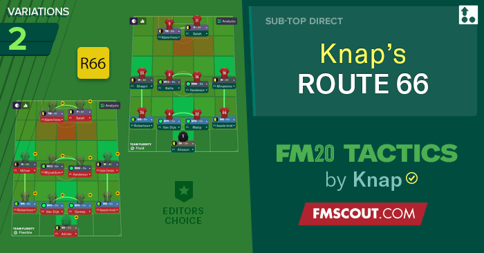 Knap Tactics for FM20 - FM20 Tactics by Knap: ROUTE 66