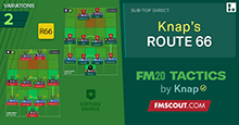 FM20 Tactics by Knap: ROUTE 66
