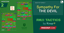 FM20 Tactics by Knap: SYMPATHY FOR THE DEVIL
