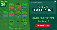 FM20 Tactics by Knap: TEA FOR ONE