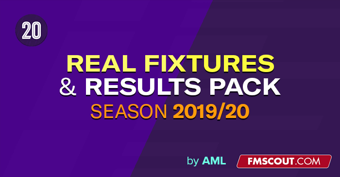 Aml S Real Fixtures Results 2019 20 Custom Start Date 20 4 0 Db 9th March Update Fm Scout
