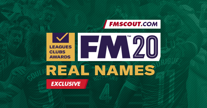 Football Manager 2020 Data Updates - Football Manager 2020 Real Names Licence Fix