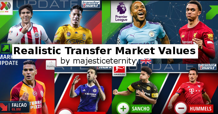 Football Manager 2020 Data Updates - FM20 Realistic Transfer Market Values