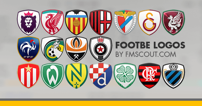 Football Manager 2020 Logo Packs - Footbe Logos 2019-20