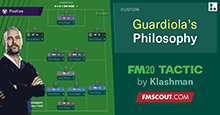Guardiola's Winning Philosophy for FM20