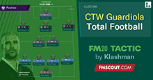 FM20 Tactic: Total Football - Dominate Possession