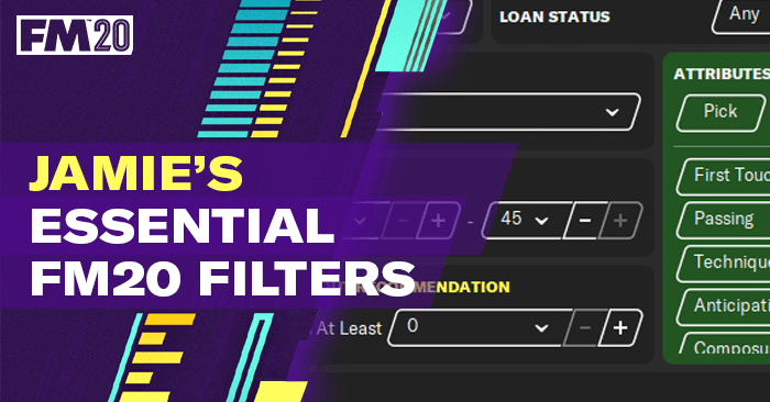 [FILTROS] Essential Football Manager 2020 Filters