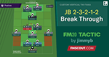 FM20 Tactic: JB 2-3-2-1-2 Break Through