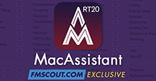 MacAssistant RT for FM20