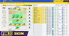 Mint BBC Sports FM20 Skin & Variants
