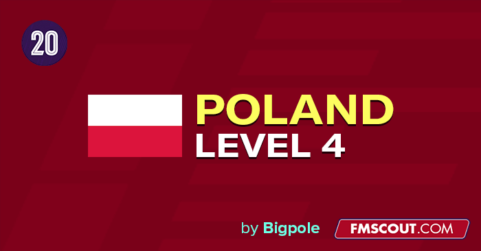 Football Manager 2020 League Updates - Polish Lower Leagues down to 6th level for FM20 by Bigpole [updated for 20.4 patch]
