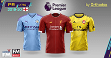 English Premier League 2019/20 Kits [PR]