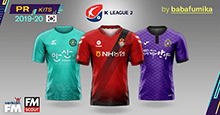 Korean K2 League 2020 Kits [PR]