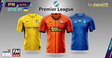 PR Kits – Ukrainian Premier League 2019/20