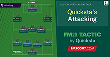 Quicksta's 4-3-2-1 Attacking Tactic // Works Wonders!