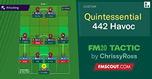 Quintessential 4-4-2 Havoc // FM20 Tactic for Underdogs