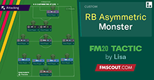 RB Monster v2 by Lisa // Asymmetric FM20 Tactic