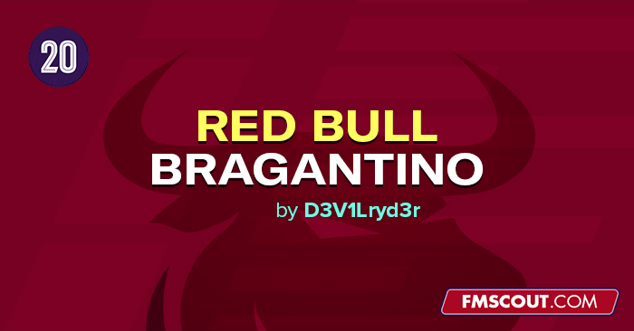 Football Manager 2020 Data Updates - RB Bragantino in FM20