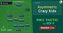 RDF's Crazy Kids // Asymmetric FM20 Tactic