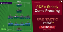 FM20 Tactic: RDF's Strictly Come Pressing