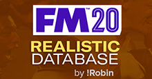 FM 2020 Realistic Database Update v1