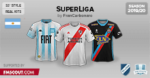 Argentine SuperLiga Kits 2019/20 [SS]