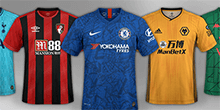 English Leagues Kits Megapack 2019/20