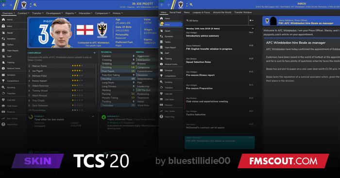 TCS 2020 v1.5 (FM2020) Tcs-fm20-skin