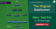 The Illogical Goalscorer // FM20 Tactic