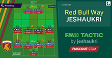 The RED BULL Way // 4-4-2 by JESHAUKRI