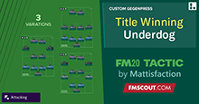 Title Winning Underdog Tactic (Championship)