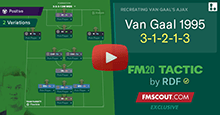 Van Gaal 1995 3-1-2-1-3 Recreation by RDF
