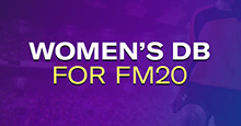 Women's Football Database for FM20