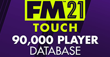 90,000 Player DB For FM21 Touch (DDT Files)