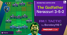 The Godfather: Antonio Conte's Nerazzuri 3-5-2