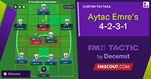 Aytac Emre's 4-2-3-1 // Better Results Tactic