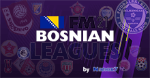 FM21 Bosnia & Herzegovina League
