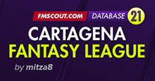 Cartagena fantasy league for FM21 // 10-tier structure