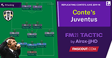 Conte's Juventus tactic (2011-14) DOMINATE every match! 105 points!
