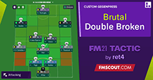 FM21 Double Broken Tactic