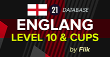 England Level 10 + Cups for FM21 (fixed loans for L7-10)  **FM 21.3 COMPATIBLE**