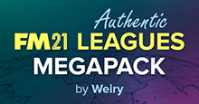 FM21 Complete Pyramids Megapack by Weiry (155 nations)