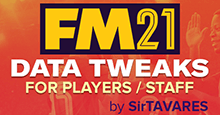FM21 Data Tweaks v6.6 [Updated 11/04/2021]