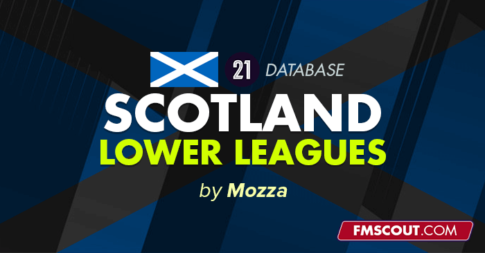 Football Manager 2021 League Updates - FM21 Scotland - The Real Life Complete Pyramid