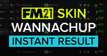 FMScout Instant Result FM21 Skins by Wannachup V1.03
