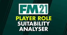 FM 21 Player Role Suitability Analyser